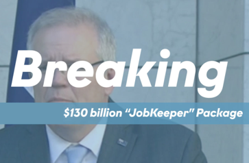JobKeeper - Federal Government Stimulus Package 3.0