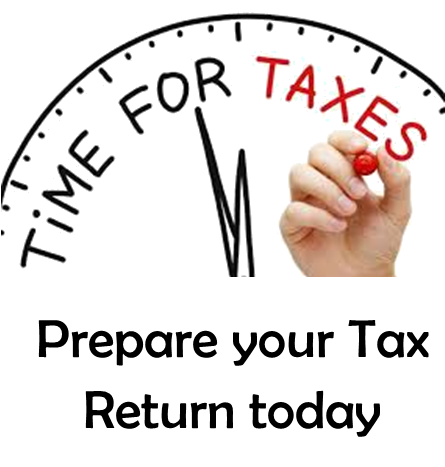 Prepare your Tax Return today!