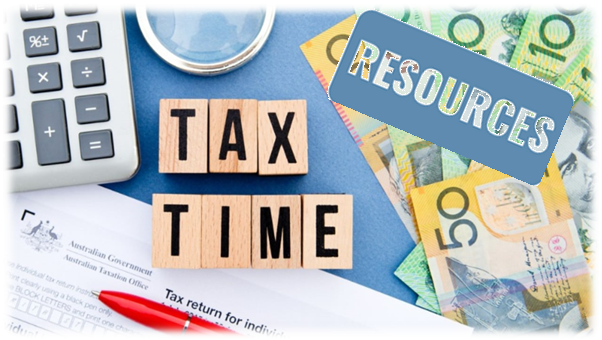 Tax Time Resources Image